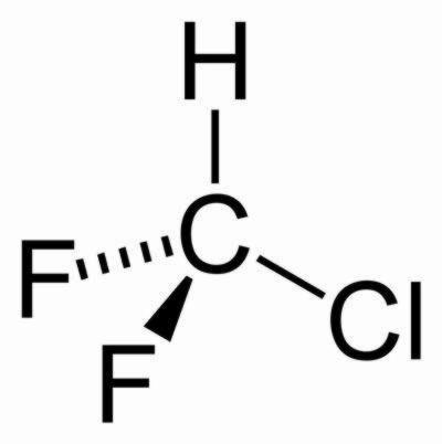 فرمول شیمیایی گاز R22